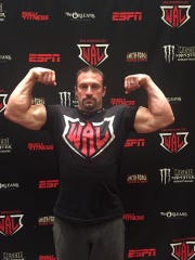 "Junction City's Tony ""Ironman"" Kitowski became a three-time world champion when he swept the right arm and left arm competitions in the zero to 165-pound weight division at the World Arm Wrestling Championships held June 23 in Las Vegas."