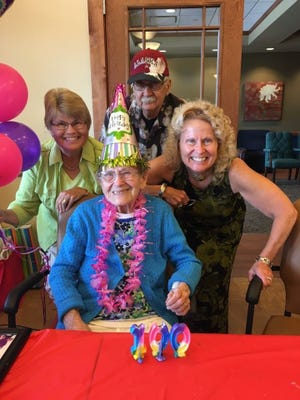 Adult Day Center of Somerset County (ADC) announces the 100th birthday of Member Ann Glass. Her birthday was celebrated at the ADC on Friday, June 24.