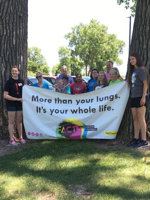 The re:TH!NK Youth Coalition and Winnebago FACT group along with FACT groups from Two Rivers and Wrightstown, together with youth from YouthGo picked up cigarette butts at Fritse Park and along the Trestle Trail in Neenah.