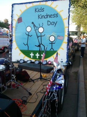 The Kids Kindness Day logo, from the group's Facebook page.