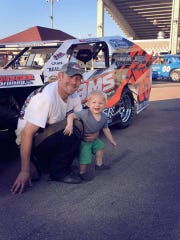 Lance Arneson has been competitive in Shawano racing this summer, but doesn't race full time.