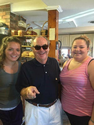 "Is that Jack? It turns out that the ""Jack Nicholson"" spotted at Rehoboth Beach's Crystal Restaurant was actually a look-alike."
