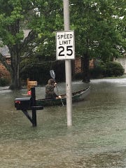 A victim kayaks on St. Benjamin.