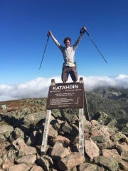 """Alexandria resident John """"Scuba"""" Upton completed hiking all 2,220 miles of the Appalachian Trail in five and a half months."""