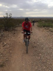 My first venture up Lazy Cow Trail at Franklin Mountains State Park.