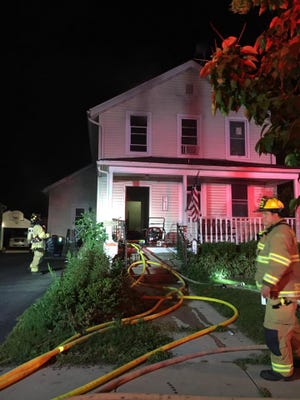 Fond du Lac Fire/Rescue were dispatched at 9:47 p.m. Monday for a report of a house fire at 276 4th St. The fire was extinguished, but caused smoke and heat damage.