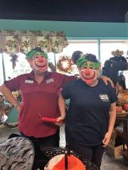 House of Hope retail manager Donna Vestal (on left),