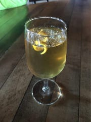 Chapel Tavern's Sangaree mixes dry vermouth, grade-b