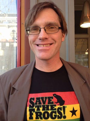 Gary Swing is the Green Party candidate for the U.S. Senate.