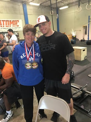 Paula Powell, the assistant director of the El Paso Parks and Recreation Department, won  two gold medals at the fourth American Powerlifting Association's West Texas Championship at Pass City Gym. Powell won gold in powerlifting which is a combo of the squat, bench press and deadlift and a gold medal in the bench press. Rico Crespo is her trainer at Sho Offz Fitness.