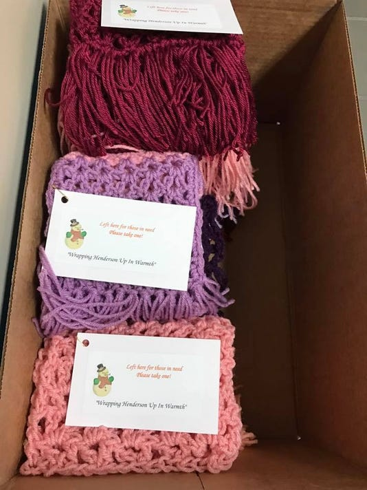 Scarf donations