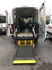 Transit System paratransit vehicle
