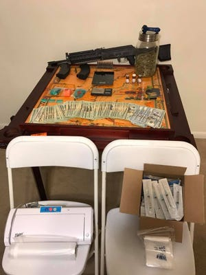 Deputies found a gun and marijuana at a Cape Coral home that led to two arrests.
