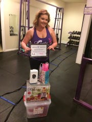 Brandy Buzzuto joined Lady Lifters in October and has lost 27 pounds. She went from not knowing how to lift weights to exercising almost every day.
