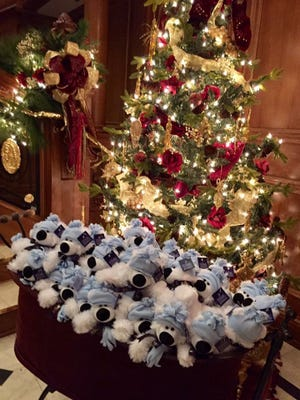 The Titanic attraction in Branson provided each of the 70 children in Branson with a Christmas gift.