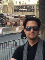 Keith Sintay at the Rogue One premiere in December.