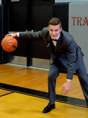 Nanuet guard Brandon Slaybaugh is the Journal News Rockland-Scholar Athlete of the Week