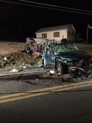 This was the scene just after a Jan. 7 fatal crash