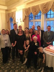 Some family members, including some whom Julia Hilinski helped leave Poland, attended Hilinski's 100th birthday celebration.