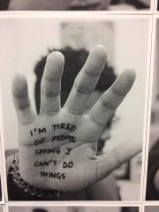 "Photographs from the Beacon students' participation in The ""I'm Tired "" Project will be featured in an exhibit opening Saturday, Jan. 14."