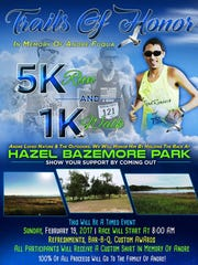 Trails of Honor 5K and 1K walk in honor of Andre Fuqua