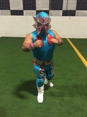 Professional wrestler Tsuky will perform at Midget Mania Thursday in Visalia.