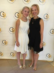 Sarah and Annie Bartosz at the Gold in September Gala