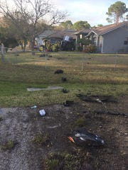 Police say 75-year-old Palm Bay man succumbed to his
