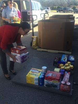 Volunteers will collect donations for the Food Fight drive March 4 at United Supermarket on Jacksboro Highway.