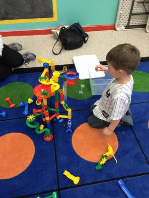 Mickelsen Community Library will hold its monthly Builder's Club for children on March 25.