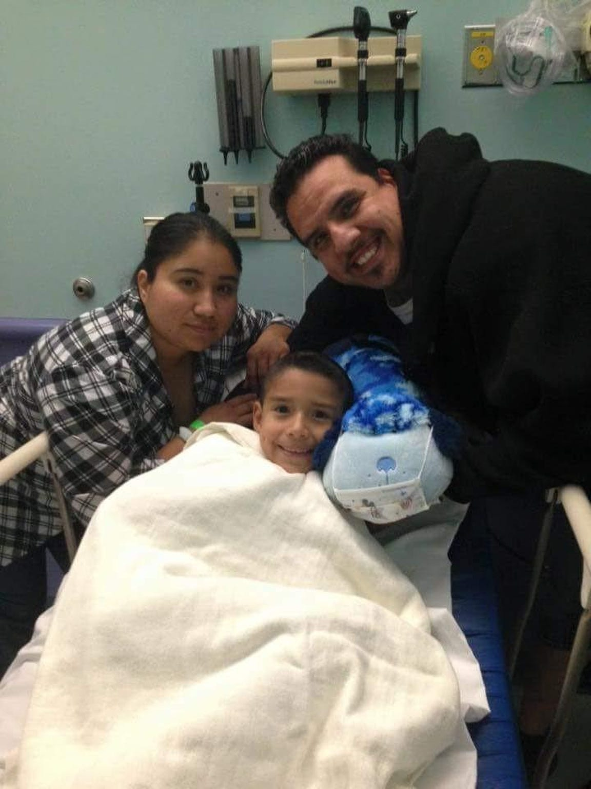 The Guajardo Family, staying strong during a long year of hospital stays.