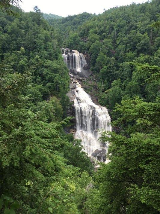 White Water Falls