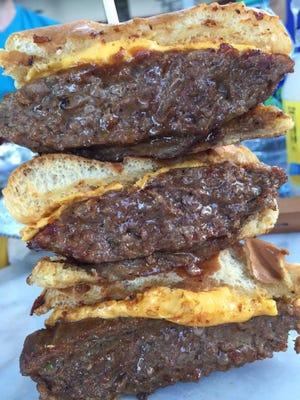 Bourbon BBQ burgers