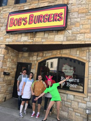 Bob's Burgers was serving April 1 in downtown Appleton.