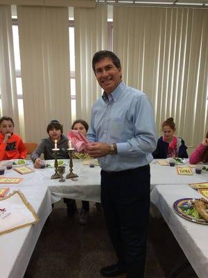 Passover seder in Paramus.