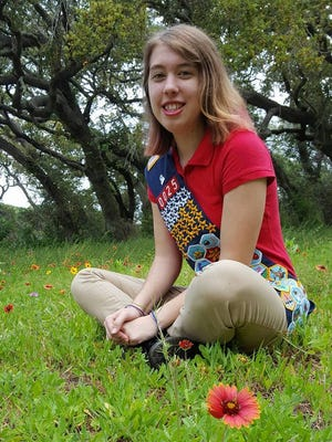 Victoria Peterson, 18, is the first American Heritage Girls member in Corpus Christi to receive the Stars and Stripes Award from the organization and the 33rd in Texas.