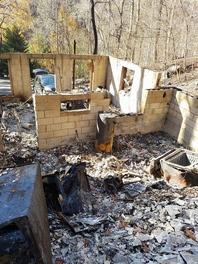 Gatlinburg wildfires: Firefighter logs reveal frantic battle