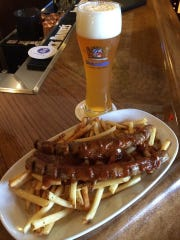 Currywurst from Bavarian Bierhaus at Opry Mills