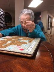 The Scrabble games Shirley Cohen plays with her son David are followed avidly by David's Facebook friends.