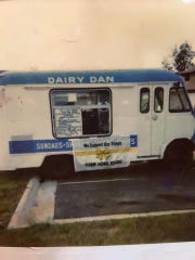 The first Dairy Dan truck, a 1953 Ford, came to Hanover in 1953 and ran until 1989.