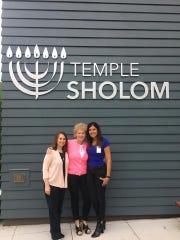 Temple Sholom Cantor Darcie Sharlein, Nancie Rothman,