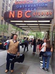 Aaron McAvoy and Caroline McAvoy's trip to New York