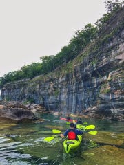 Pictured Rocks kayaking