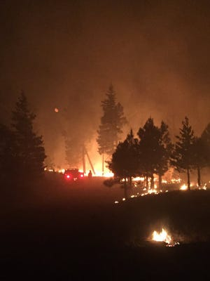 The Highline Fire near Payson has burned 7,000 acres as of June 22, 2017, and is nearing containment.