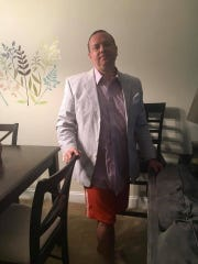 Ed Paskey in vacation mode for Skype television appearance on June 17.