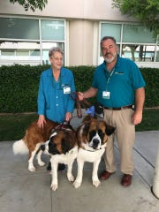 Natividad Medical Center has four therapy dogs.