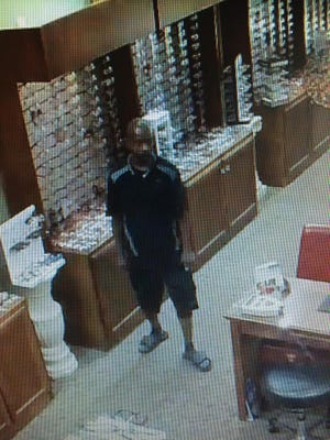 A Murfreesboro man was caught on camera stealing more than $2,500 worth of sunglasses.
