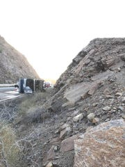 The driver of a tour bus was killed on July 3, 2017, when the vehicle's left front tire failed on Interstate 10 near Quartzsite, Ariz., about 10 miles from the California state line.