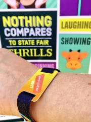 Reloadable wristbands will replace game and ride tickets at the 2017 Iowa State Fair.