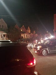 Perth Amboy traffic caused by drivers leaving the Jersey